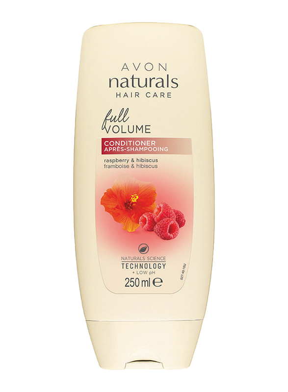 Avon Naturals Raspberry and Hibiscus Full Volume Conditioner for All Hair Types, 250 ml