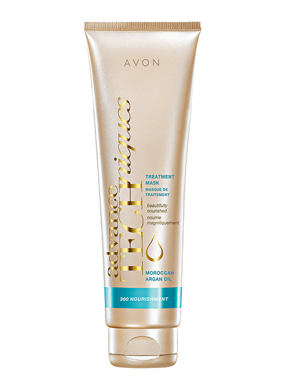 Avon Advance Techniques Moroccan Argan Oil Treatment Mask for All Hair Types, 150ml