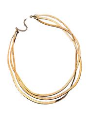 Avon Libby Choker Necklace for Women, Gold