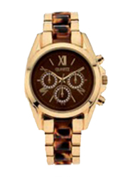 Avon Zaylee Analog Watch for Women with Stainless Steel Band, Water Resistant, Gold-Black