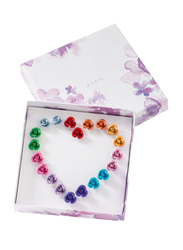 Avon 10-Piece Rosette Earrings Gift Set for Women, Multicolor