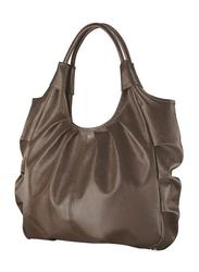 Avon Kimberlee PVC Hobo Bag for Women, Brown