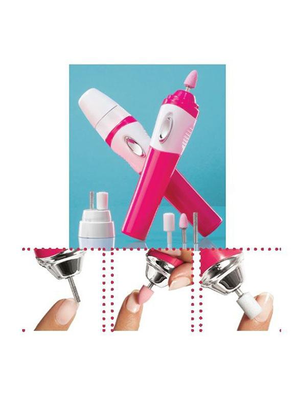 Avon Nail Experts 3-in-1 Nail Tool, Pink