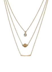 Avon Yessenia Strand Necklace for Women, Gold