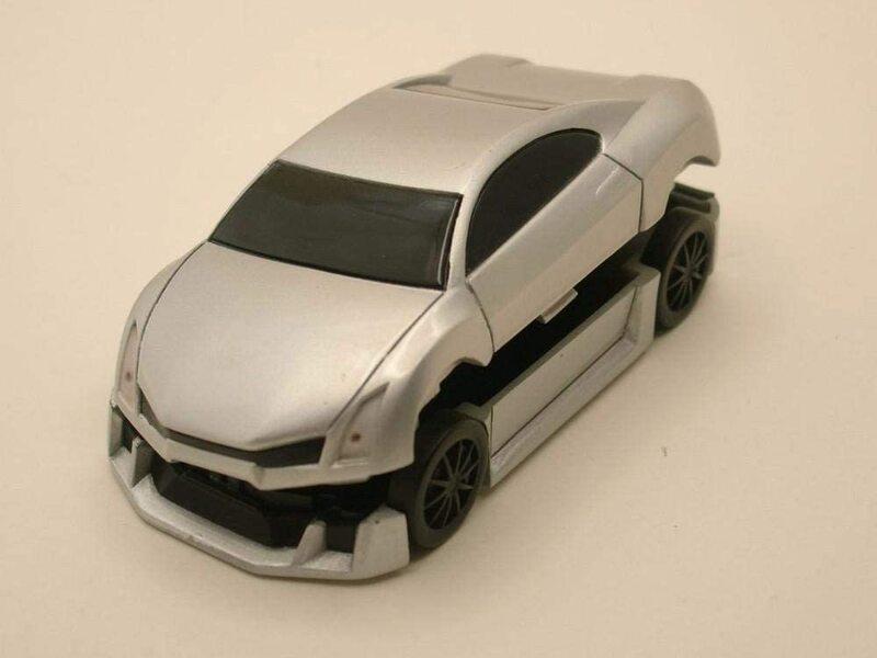 Avon Car Manicure Set, Silver