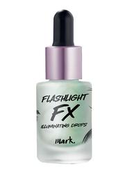 Avon Mark. Flashlight Fx Illuminating Drops, 14ml, Laser Lights 1298410, Green