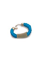 Avon Beatriz Braided Bracelet for Women, Blue