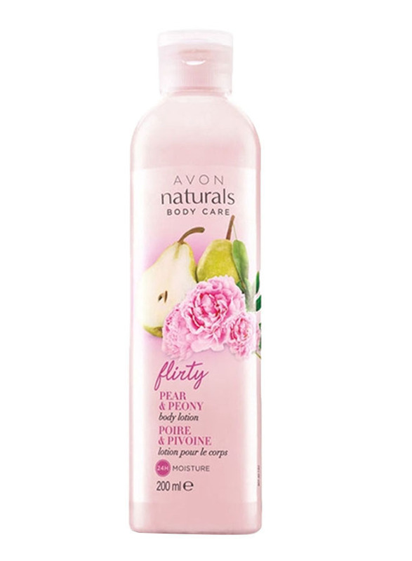Avon Naturals Pear and Peony Body Lotion, 200ml