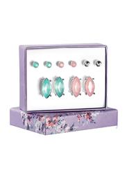 Avon Alice Stud Earrings Gift Set for Women, Pink/Blue