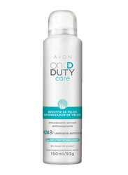 Avon On Duty Care Hair Minimizing Aerosol 48H Antiperspirant Deodorant for Women, 150 ml