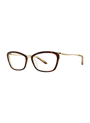 Badgley Mischka Elyse Full Rim Cat Eye Tortoise Frame for Women, 53/16/135