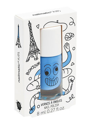 Nailmatic Kids Water Based Matte Nail Polish, 8ml, Gaston Sky Blue