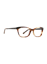 XOXO Medina Full Rim Tea Cup Honey Tortoise Brown Frame for Women, 53/16/135