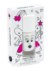 Nailmatic Kids Water Based Nail Polish, 8ml, Zouzou Extra Pearly White