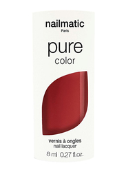 Nailmatic Pure Color Plant-Based Glossy Nail Polish, 8ml, Anouk Brick Brown