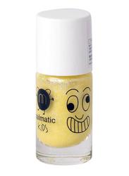 Nailmatic Kids Water Based Matte Nail Polish, 8ml, Lulu Pearly Yellow
