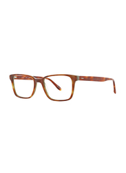Badgley Mischka Cadet Full Rim Rectangle Tortoise Frame for Men, 53/18/145