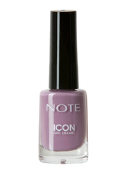 Note Icon Nail Enamel, 514 Dusty Rose, Purple