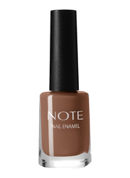 Note Nail Enamel, 17 Antique Rouge, Brown