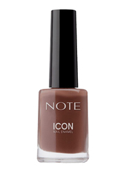 Note Icon Nail Enamel, 103 Berry Chocolate, Brown