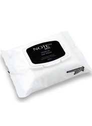 Note Makeup Wet Wipes, 25 Pieces, Transparent, Clear