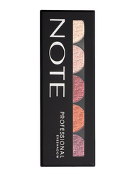 Note Professional Eye Shadow Palettes, 107, Multicolor