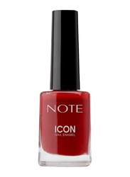Note Icon Nail Enamel, 102 Chilli Red