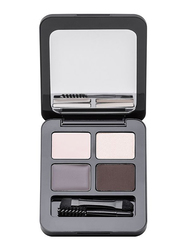 Note Total Look Brow Kit, 03 Brunettes, Multicolor