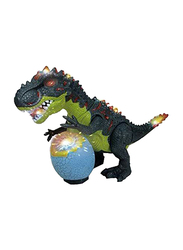 Yijun Bump & Go Dinosaur with Lights & Sound Electronic Toy, Ages 3+