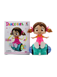 Yijun Musical Dancing Girl Doll with Flashing Lights Electronic Toy, Ages 3+