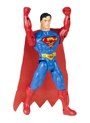 LB Toys 27cm Super Heroes Superman Adjustable Body Figurine Toy, Ages 3+