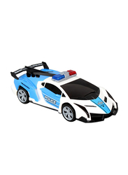 Yijun High Performance Police Dream Car with 3D Projection Lights Electronic Toy, Ages 3+
