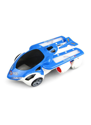 Yijun Flying Patrol Car with LED Lights & Built-in Music, Electronic Toy, Ages 3+