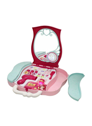 LB Toys Portable Makeup Beauty Set with Real Action Projector & Accessories, Ages 3+