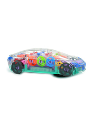 LB Toys 3D Super Transparent Mechanical Racing Car Electronic Toy, Ages 3+