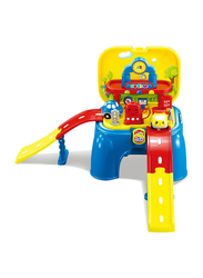 LB Toys 2-in-1 Seat Gas Station with Light & Sound, Ages 3+