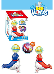 Yijun Dancing Sea Lion with Fantasy Projection Lights Electronic Toy, Ages 3+