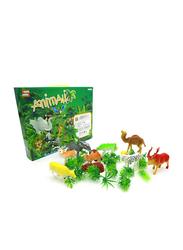 LB Toys Wild Life Model Animal Toys Set, Ages 4+