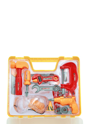 LB Toys Engineer Workshop Super Power Tool Kit, 15 Pieces, Ages 4+