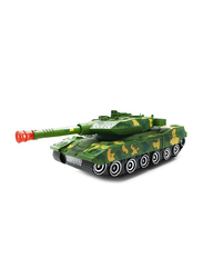 Yijun Robot Converting Military Tank with Flashing Lights & Sound Electronic Toy, Ages 3+