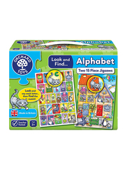 Orchard 15-Piece Look And Find..Alphabet Jigsaw Puzzle