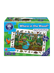 Orchard 150-Piece Where In The Wood? Jigsaw Puzzles