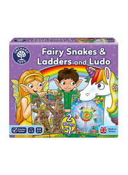 Orchard Fairy Snakes & Ladders with Ludo Board Game