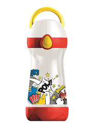 Maped 430ml Picnik Concept Plastic Spillproof Water Bottle, 871412, Comic