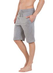 Jockey Men's USA Originals Lounge Shorts Medium, Grey Melange/Charcoal Melange