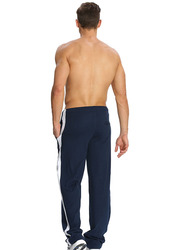 Jockey Men's Sports Star Track Pants Small, Thunder Blue/White