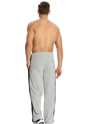 Jockey Men's Sports Star Track Pants Small, Grey Melange