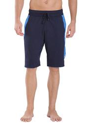 Jockey Men's Sports Active Shorts Medium, Navy/Neon Blue