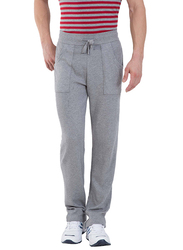 Jockey Men's USA Originals Track Pants Large, Grey Melange