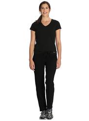 Jockey Ladies 24X7 Lounge Pants for Women, Medium, Black
